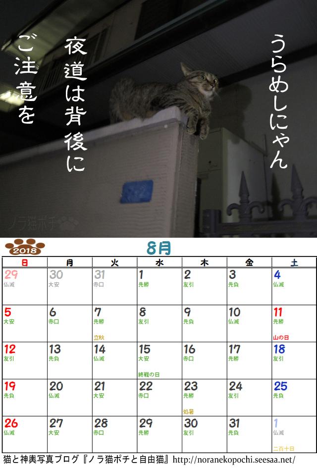 ぼやきカレンダー8月.jpg